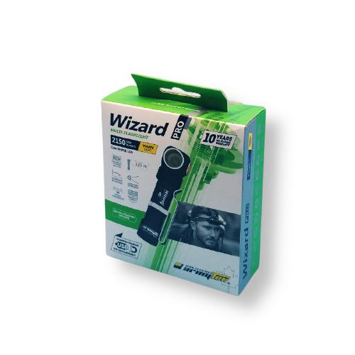 Paras otsalamppu Armytek Wizard Pro