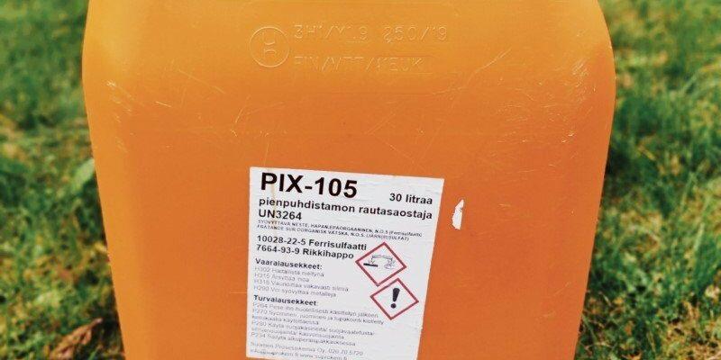 PIX saostuskemikaali